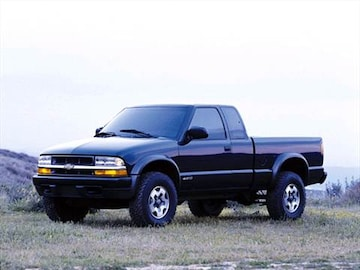 2001 Chevrolet S10 Extended Cab Exterior