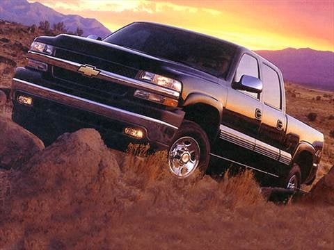 2001 Chevrolet Silverado 1500 HD Crew Cab Short Bed  photo