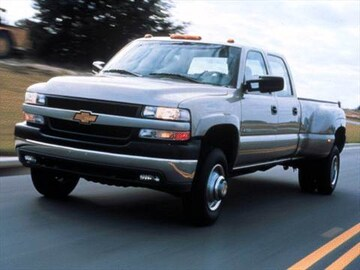 2001 chevrolet silverado 3500 crew cab pricing ratings. Black Bedroom Furniture Sets. Home Design Ideas
