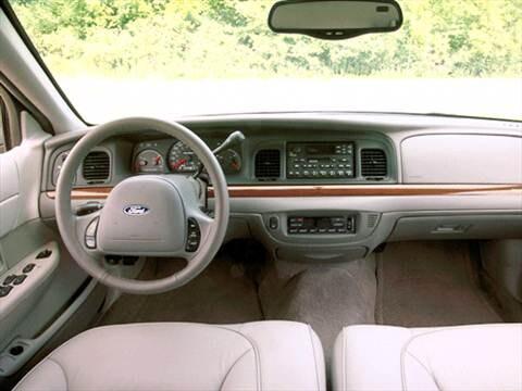 Ford Crown Victoria Interior