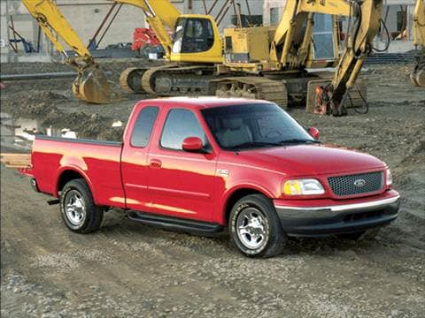 2001 Ford F150 Super Cab Short Bed 4D  photo