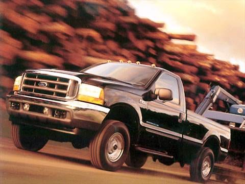 2001 Ford F250 Super Duty Regular Cab Long Bed  photo