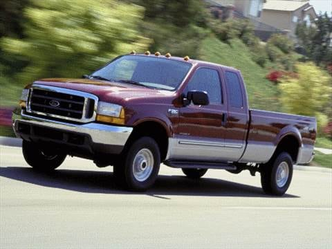 2001 Ford F250 Super Duty Super Cab Short Bed  photo