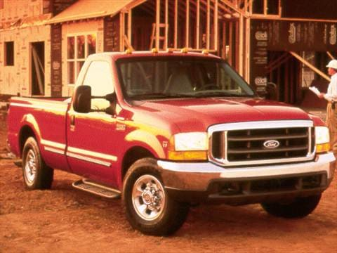 2001 Ford F350 Super Duty Regular Cab Long Bed  photo