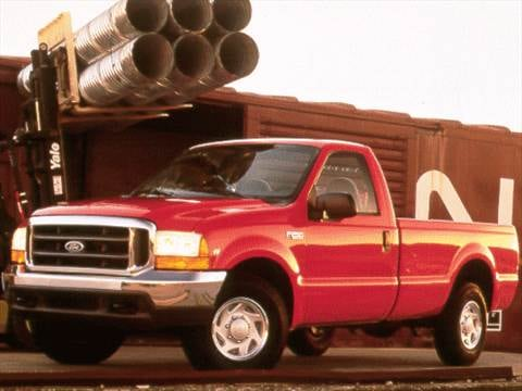 2001 ford f350 super duty regular cab Exterior