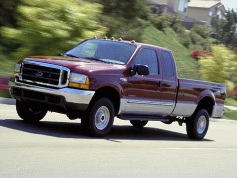 2001 Ford F350 Super Duty Super Cab Short Bed  photo