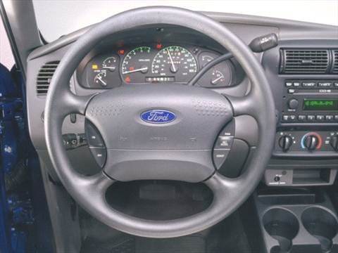 2001 ford ranger super cab Interior