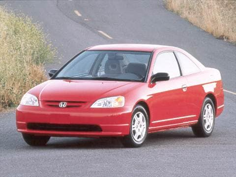 2001 Honda Civic DX Coupe 2D  photo