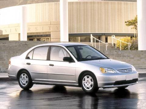 2001 Honda Civic GX Sedan 4D Pictures and Videos | Kelley Blue Book
