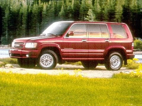 2001 isuzu trooper Exterior