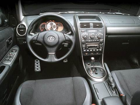 2001 lexus is Interior