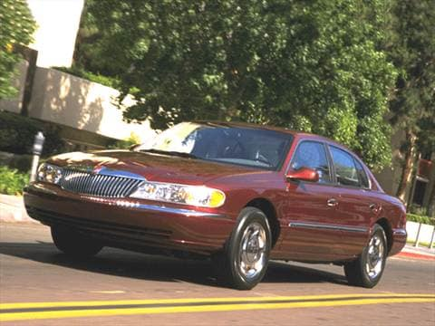 2001 Lincoln Continental Pricing Ratings Reviews Kelley Blue Book