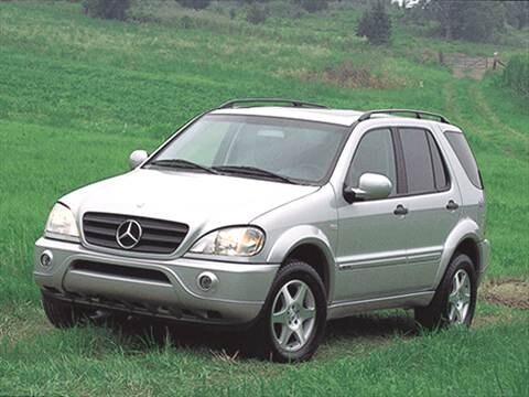 2001 mercedes benz m class ml 320 sport utility 4d for 2001 mercedes benz m class ml320