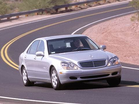 2001 Mercedes-Benz S-Class S 430 Sedan 4D  photo