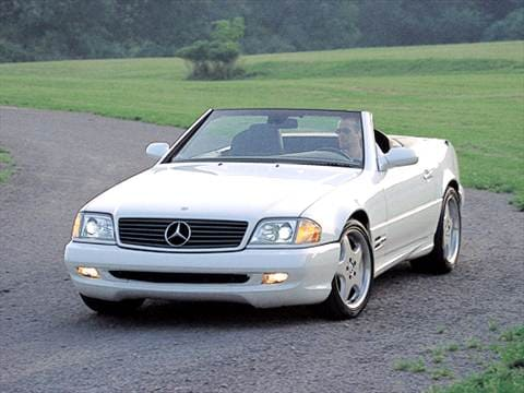 2001 mercedes benz sl class pricing ratings reviews for Mercedes benz blue book value