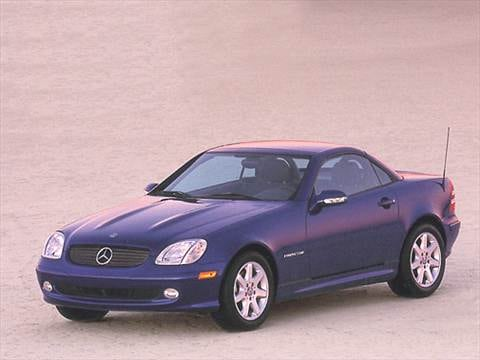 2001 Mercedes Benz Slk Cl