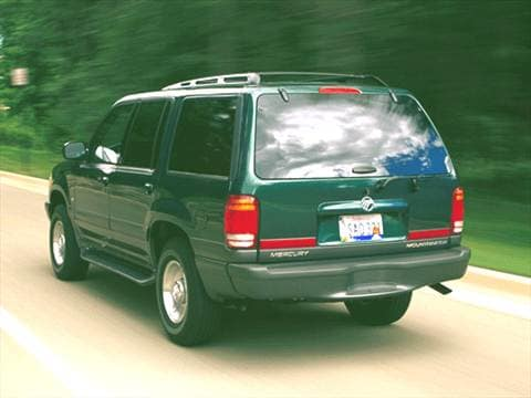 2001 mercury mountaineer Exterior