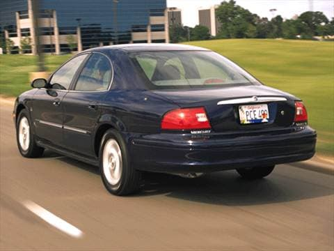 2001 mercury sable Exterior