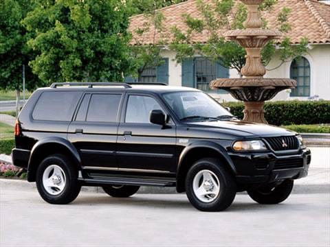 2001 mitsubishi montero sport pricing ratings reviews. Black Bedroom Furniture Sets. Home Design Ideas