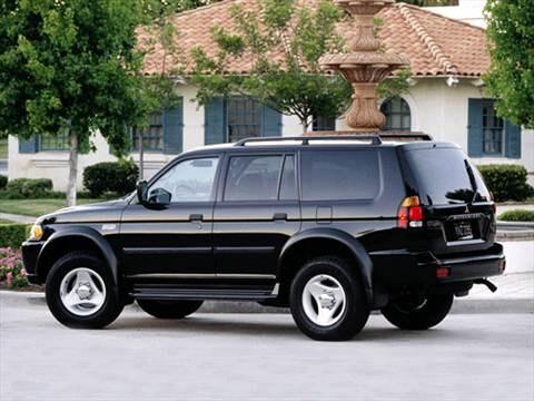 Superior 2001 Mitsubishi Montero Sport Exterior 2001 Mitsubishi Montero Sport  Exterior