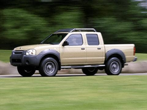 2001 Nissan Frontier Crew Cab XE 4D  photo