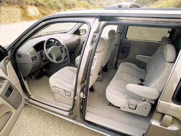 2001 Nissan Quest Interior