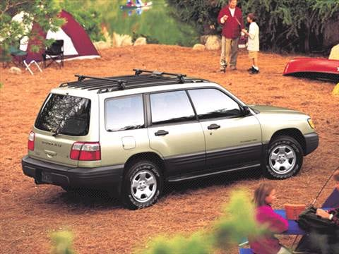 2001 Subaru Forester | Pricing, Ratings & Reviews | Kelley ...