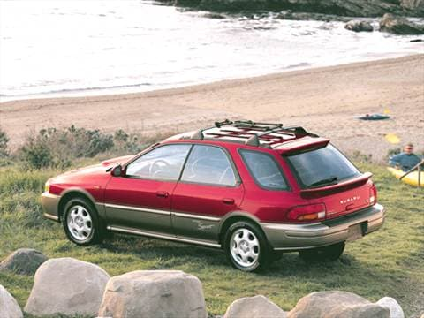 2001 Subaru Impreza Outback Sport Wagon 4D  photo