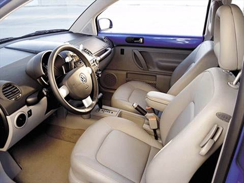 2001 volkswagen new beetle Interior