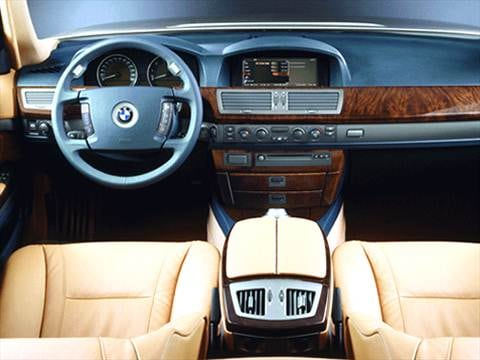 2002 bmw 7 series Interior