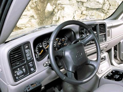 2002 chevrolet avalanche 2500 Interior