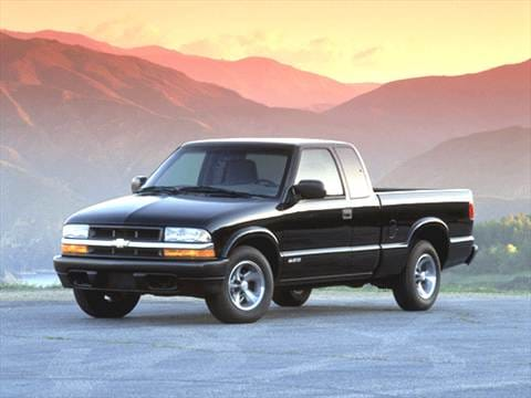 2002 Chevrolet S10 Extended Cab