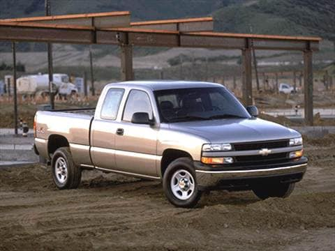 2002 Chevrolet Silverado 1500 Extended Cab Long Bed  photo