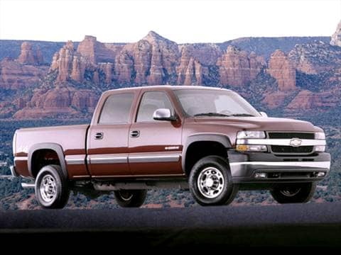 2002 Chevrolet Silverado 2500 HD Crew Cab | Pricing, Ratings ...