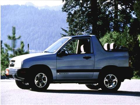 2002 Chevrolet Tracker Pricing Ratings Amp Reviews