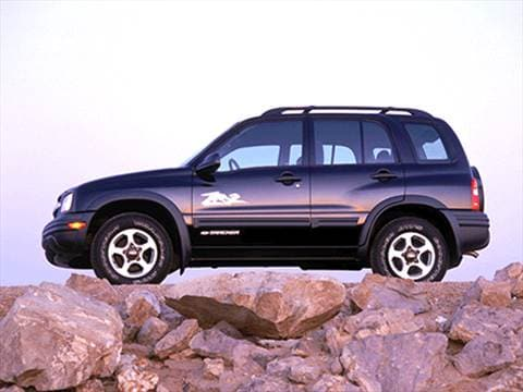 2002 chevrolet tracker pricing ratings reviews kelley blue book