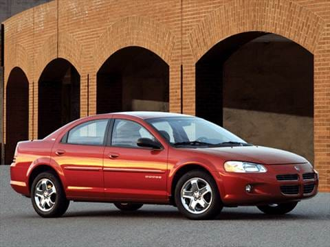 2002 Dodge Stratus Kelley Blue Book
