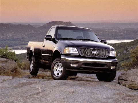 2002 ford f150 regular cab pricing ratings reviews kelley blue book. Black Bedroom Furniture Sets. Home Design Ideas