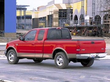 2002 ford f150 super cab pricing ratings reviews. Black Bedroom Furniture Sets. Home Design Ideas