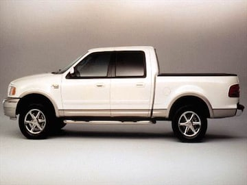 2002 f150 extended cab length