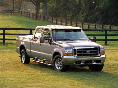 2002 Ford F250 Super Duty Crew Cab Short Bed  photo