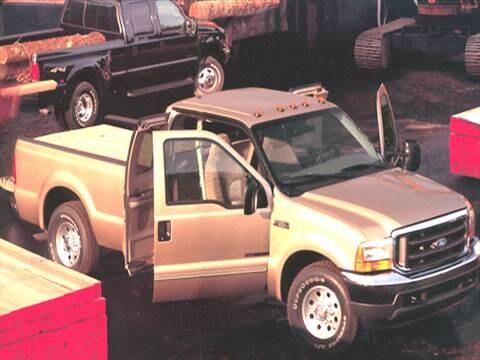 2002 ford v10 horsepower