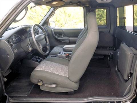 2002 ford ranger super cab Interior