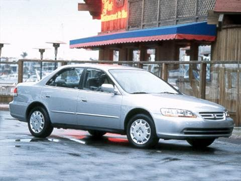 2002 Honda Accord DX Sedan 4D  photo