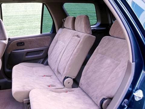 2002 honda cr v Interior