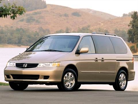 2002 Honda Odyssey Pricing Ratings Amp Reviews Kelley