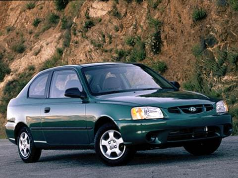 2002 hyundai accent gl sedan 5 speed manual transmission photo.