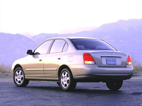 Elegant ... 2002 Hyundai Elantra Exterior