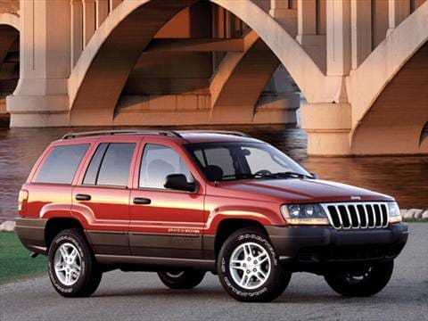 2002 Jeep Grand Cherokee. 15 MPG Combined