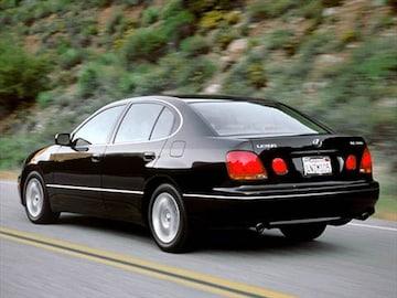 2002 Lexus Gs Exterior